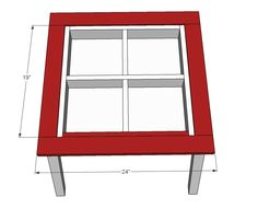 Ana White | Build a Arts and Crafts Play Table | Free and Easy DIY Project and Furniture Plans