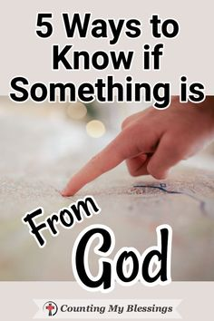 5 Ways to Know if Something is From God Where should I live? It's not always easy to know if something is part of God's plan for us! These 5 tried and true steps will help. Prayer Scriptures, Bible Teachings, Bible Prayers, Faith Prayer, God Prayer, Prayer Quotes, Bible Verses Quotes, Faith In God, Faith Quotes