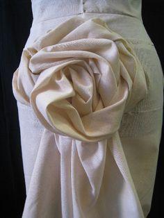 fabric manipulation skirt flounces - Google Search