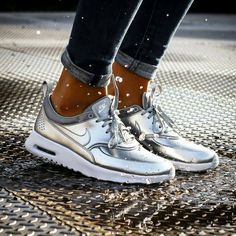 Air Max Thea metallic #nike .....