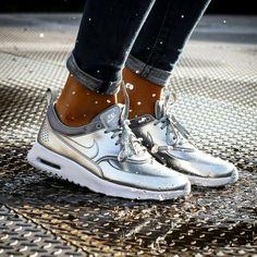 Nike Thea Silver