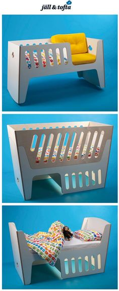 "baby, children, nursery: grow with baby furniture ""The Rocky"" rockable crib, baby crib, and toddler bed. Modular Furniture, Baby Furniture, Furniture Outlet, Furniture Movers, Furniture Stores, Childrens Beds, Baby Cribs, Kid Beds, Baby Decor"
