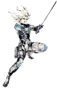 Raiden, Metal Gear Solid 2 : Sons of Liberty, i like him for his androgynus appearance. Although losing in badass factor to Solid Snake, has a charm of his own in the game.