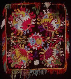 Lakai Silk Embroidery, Uzbekistan
