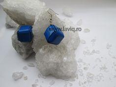 Cercei Eco cub Albastru