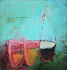 Abstract Painting (this one by Jenny Gray)