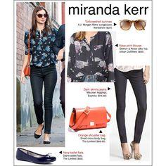 Miranda Kerr | Style via Polyvore