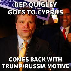 Rep. Quigley Back from Covert Cyprus Trip to Probe Trump-Russia - Nails Down Motive  http://thetrumpimpeachment.com/Rep-Quigley-Back-from-Covert-Cyprus/