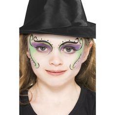 maquillaje halloween de bruja