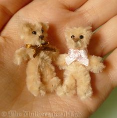 the 5 minute mini teddy bear hi long time no see i had some very interesting projects which i men # Cute Crafts, Crafts To Make, Easy Crafts, Crafts For Kids, Arts And Crafts, Sewing Crafts, Sewing Projects, Craft Projects, Craft Ideas