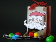 Qbee's Quest: Gift Box Punch Board Candy Dispenser Tutorial          adapt from box punch board