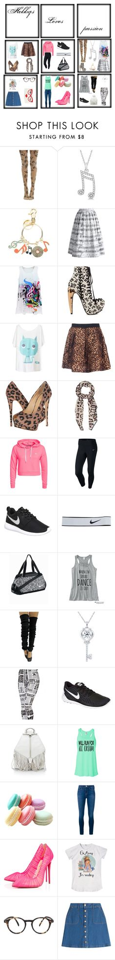 """""""Hobbys"""" by laurenandapollo ❤ liked on Polyvore featuring Allurez, See by Chloé, Chicwish, Privileged, Giuseppe Zanotti, Givenchy, Only Play, NIKE, Rebecca Minkoff and Frame Denim"""