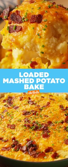 If you're not loading up your mashed potatoes this Thanksgiving, you're doing it SO wrong. Get the recipe at Delish.com.