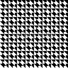 Houndstooth Geometry created by Bard Sandemose offered as a vector file on patterndesigns.com