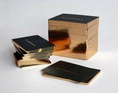 Golden Bussiness Cards Design - 3
