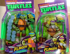 A New Dawnn Playmates Teenage Mutant Ninja Turtle toys