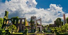 """The ruins of the Carnegie Mansion, """"Dungeness,"""" Cumberland Island, Georgia - supposedly haunted  the island where JFK, jr got married"""