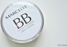 """MarcelleBBCTP - Marcelle claims that this BB Cream-to-Powder has """"8-in-1"""" benefits: it evens out skin tone, hydrates, protects, regenerates, controls shine (!!!), soothes, corrects, and brightens. It also has a """"photo luminescent diamond core complex"""" which means... Actually, I don't know what that means. But it sounds awesome, no? To top it off, this product is hypo-allergenic, perfume free, paraben free, oil free, and non-comodogenic."""