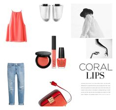 """Cool Corals"" by nmkratz ❤ liked on Polyvore featuring Belleza, White House Black Market, Bobbi Brown Cosmetics, OPI, NARS Cosmetics, Robert Clergerie y coolcorals"