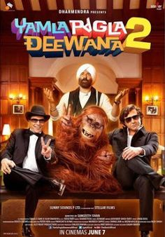 The title track of Yamla Pagla Deewana is released on You Tube. The title track features the cast of Yamla Pagla Deewana 2 that is Dharmendra, Sunny Deol, Bobby Deol, Kristina Akheeva, Neha Sharma. Bollywood Posters, Bollywood Songs, Bollywood News, Movie Gifs, 2 Movie, Latest Movies, New Movies, English News Headlines, Movies Box