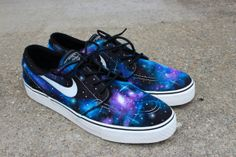 Hey, I found this really awesome Etsy listing at http://www.etsy.com/listing/160006377/galaxy-nike-janoskis