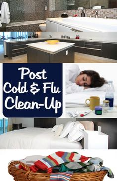 how to clean sheets after flu