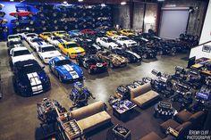 Which cars would be in your dream garage? Man Cave Garage, Garage House, Mustang 1967, Underground Garage, Ultimate Garage, Ultimate Man Cave, Cool Garages, Luxury Garage, Car Storage