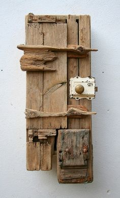 Driftwood Cupboard Cabinet, Drift Wood Cornwall Uk, Driftwood Furniture