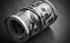 Money keeps silent. Dollar bills close-up - Money keeps silent , Black And Grey Sleeve, Black And Grey Tattoos, Black And White, Tattoo Black, Chicano Art Tattoos, Gangster Tattoos, Mago Tattoo, Dollar Tattoo, American Dollar