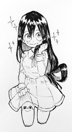 Character: Tsuyu Asui (Dibujo/Drawing)