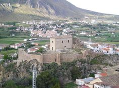 Alcazaba de Loja Granada Spain.