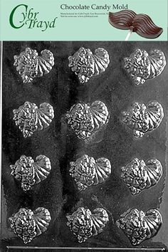 Cybrtrayd T005 Bite Size Cornucopias Life of the Party Chocolate Candy Mold with Exclusive Cybrtrayd Copyrighted Chocolate Molding Instructions >>> Click image to review more details.