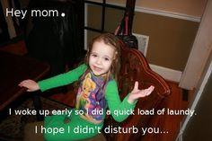 """Hey mom"" My own version of Ryan Gosling's ""Hey girl"""