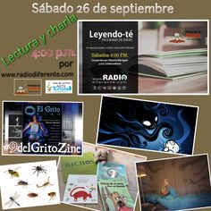 Lectura y charla en Leyendo-Te por www.radiodiferente.com