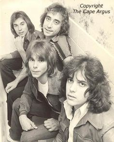 Rabbitt, L-R: Neil Cloud, Duncan Faure, Ronnie Robot and Trevor Rabin. West Africa, South Africa, I Am An African, Rock Hairstyles, Yes Band, Bay City Rollers, My Childhood Memories, African History, Growing Up