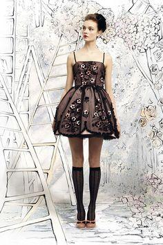 Red Valentino Lookbook for Autumn/Winter 2012/13