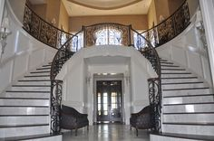 grand staircases | Grand Home Staircase copy the one in the White House