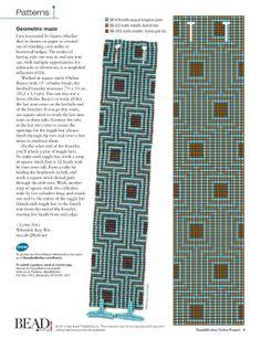 geometric square stitch