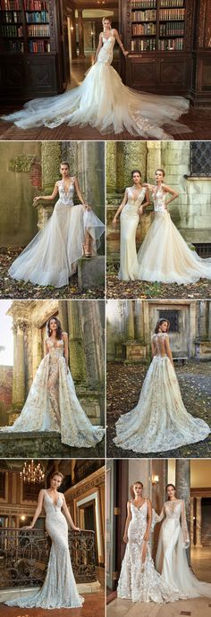 We all know that Israeli designers make some of the most jaw-droppingly beautiful wedding dresses with delicate details and extravagant silhouettes. These designers never cease to amaze us with their talents, and we're thrilled to share some of our favorite picks from their 2017 collections! Get ready to swoon!  Berta Bridal  Galia Lahav …