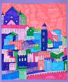 Draw city