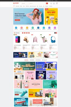 💥 #eMarket - Best Selling Multi-vendor MarketPlace Elementor WordPress Theme 2021! eMarket is the best multi-vendor marketplace WordPress theme chosen as featured item by Envato Team and it's a key item with beautiful, unique and professional design for any multi-vendor marketplace or any shopping store. #wordpresstheme #wpthemego #elementor #mobilelayout #multivendor #marketplace #woocommerce #ecommerce Shopping Stores, Christmas Shopping, All In One, Wordpress Theme, Kids Fashion, Web Design, Layout, Marketing, Ecommerce