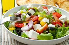 Az eredeti görög saláta receptje | femina.hu