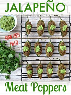 Jalapeño Meat Poppers by Primally Inspired (Paleo)