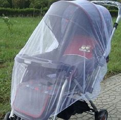Outdoor Baby Infant Pushchair Mosquito Net Mesh Buggy Cover - Helps protect your child from mosquito, fly and other insect bites. High-quality, elastic and easy to attach mosquito net cover. Pram Stroller, Baby Strollers, Stroller Cover, Toddler Stroller, Umbrella Stroller, Jogging Stroller, Stroller Blanket, Toddler Bed, Baby Buggy