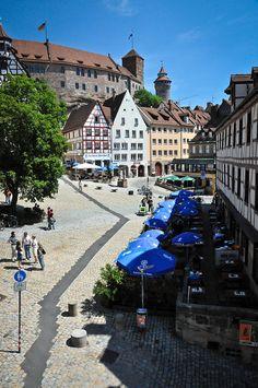 Albrecht Dürer Square Nuremberg Germany