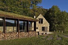 Extension Of A Barn In Pyrenees - Picture gallery