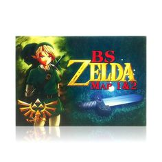 BS Zelda Map 1 & 2 SNES Super Nintendo game, includes box and game cartridge only. Cleaned, tested and comes with a FREE box protector! Super Nintendo Console, Super Nintendo Games, Original Legend Of Zelda, Zelda Map, Nintendo Systems, Free Boxes, Display Block, Single Player, Entertainment System