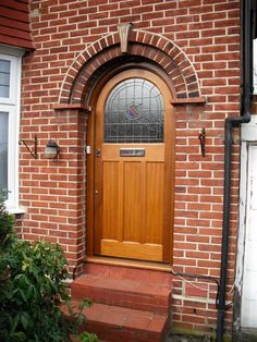 Prestigious Doors From The Early Nineteenth And External Doors Bespoke period wooden,Victorian Edwardian and Georgian style Front doors and Sash windows,Supplied and fitted across London and the home counties Arched Front Door, Front Door Porch, Porch Doors, House Front Door, House Front Design, Glass Front Door, House Doors, Entrance Doors, Glass Door