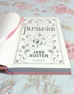 Persuasion by Jane Austen is one of my all time favorite books. I Love Books, My Books, Jane Austen Books, Pride And Prejudice, Book Nooks, Book Design, Book Lovers, My Favorite Things, My Love