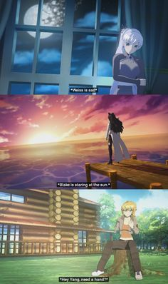 RWBY volume 4 captions on a side note NOT FUNNY WITH THE LAST ONE ok maybe a little funny  BUT STILL TO EARLY